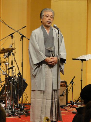▲木村理事長  「今年のテーマは『底辺を広げよう』 です。経験値を重ね、底辺を広げる ことが、自分自身のグレードアップに なります。」
