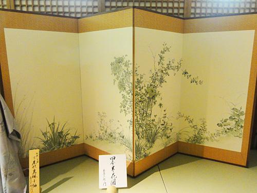 ◆尾形光琳(おがたこうりん) 「四季草花図」