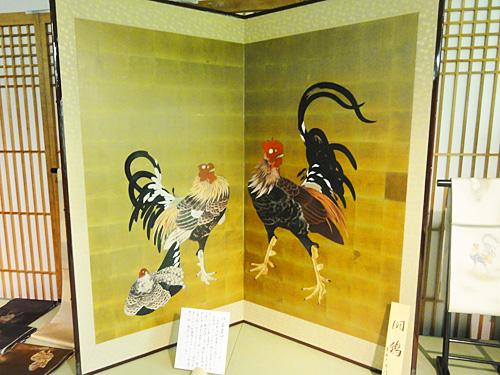 ◆伊藤若冲(いとうじゃくちゅう) 「闘鶏」