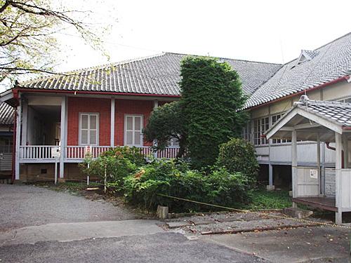 「ブリュナ館」 指導者であるフランス人のポール・ブリュナ氏が暮らしていた住居。