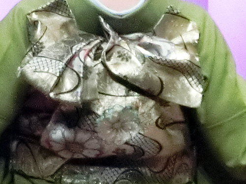 「羽衣」|振袖帯結び