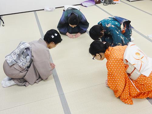 礼法の授業