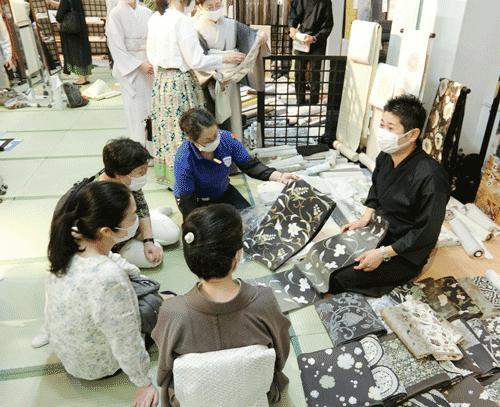 28回染織美術館:西陣鈴木